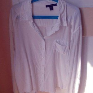white shirt perfect for hot days